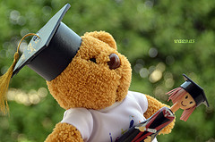 Graduation bear. Waad Alsulaim